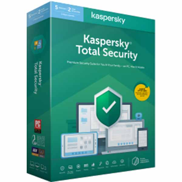 Kaspersky Total Security ( 1 User 1 Year )