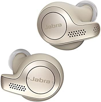 Jabra Elite 65t Bluetooth Gold Beige Earbuds