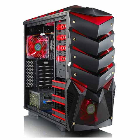Delux Mid Tower SH-891 Gaming Casing